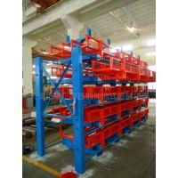 伸缩悬臂货架价格 广东重型货架 放型材 实心棒料 节约空间