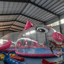 大型百万海洋球鲸鱼岛游乐园加盟