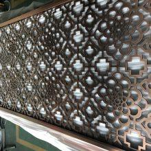 钛金不锈钢隔断屏风,装饰钛金花格厂家
