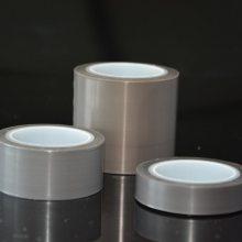 泰州厂商直销高质量 抗老化 耐酸碱 纯膜特氟龙胶带 耐高温灰色膜胶带