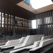 车站人行通道雨棚铝单板 定制外墙铝单板