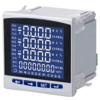 一乐电气三相电流电压表功率因数电度表 485智能仪表 数显多功能电力仪表工业电度表