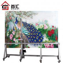 首汇墙画墙绘机 户外文化宣传墙体彩绘机 校园知识宣传墙面喷绘机