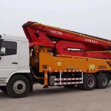新款44米混凝土搅拌天泵车 打混凝土专用机械设备 泵车工厂直销