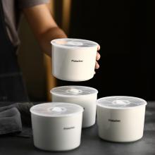 保温饭盒密封碗 陶瓷带盖保鲜碗 韩式保鲜碗三件套