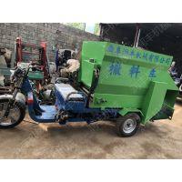 养殖设备撒料车 双出料口撒料车不用东奔西走润丰工厂直销