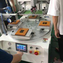 广州市铭牌丝网印刷机生产深圳市亚克力丝印机厂家东莞市电源盒移印机制造