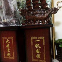 开业送什么摆件?陕西西安公司开业落地摆件工艺品 酒店送锦绣前程树脂开业马到成功摆件