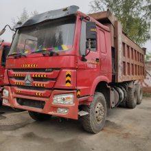 山西忻州急售豪沃后八轮自卸车出售,336马力,AC16桥,海沃顶,5.6大箱,价格便宜