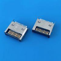 IDC 3.1夹板公头 20PIN 带鱼叉固定脚 大电流