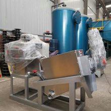 湖北养猪场粪污处理整套设备,气浮装置、沉淀装置、过滤装置、地埋式一体化设备厂家-竹源