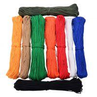 白色尼龙绳 编织绳2mm粗细尼龙绳 伞绳 捆绑绳8mm 帐篷绳 无芯绳