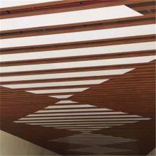 南沙万达广场白色U型铝方通吊顶 尺寸规格来电定制