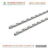 威特福工具钨钢非标深孔钻头加工厂家 不锈钢铝用硬质合金加长钻头定制