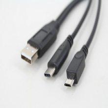 USB3.1Type-c二合一数据线 平板手机micro 5p公充电线