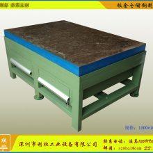 湖北铸铁工作台/焊接平台【利欣制造】铸铁模具工作台厂家