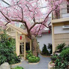仿真树 假榕树 仿真花 包柱子假树 客厅假树广场商场大厅落地仿真树 假花树