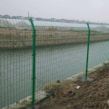【护栏网】厂家直销防护公路铁丝框架护栏网 绿色铁丝高速护栏网