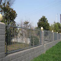 新型围墙护栏 小区铁艺围墙 变电站围栏