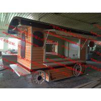 儿童乐园海洋馆商品售卖花车,户外商品轻餐饮移动零售贩卖车售货亭
