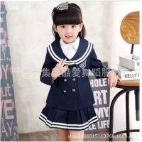 新款幼儿园园服套装中小学生校服儿童英伦学院风韩版班服