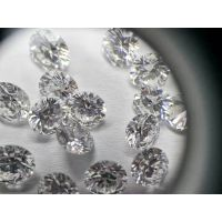 个性化定制镶嵌VVS级的圆形人造科技钻石的高端时尚钻饰