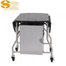 专业生产SITTY斯迪90.8302-1折叠式客房送餐车/酒店送餐车