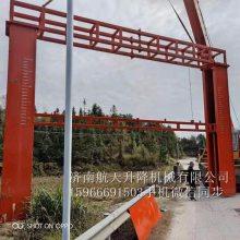 郑州巩义 道路限高架厂家 智能升降限高架 5-15简易防撞限高杆 圆管限高杆 专业设计安装