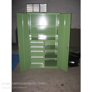 供应苏州置物柜,带门置物柜定做,鑫辉层板物料柜
