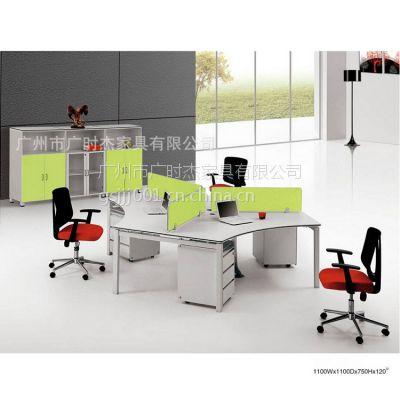 广州广时杰厂家批发方管钢架办公家具 屏风桌钢脚 钢架办公桌 办公家具