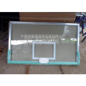 供应东莞篮球板更换? 东莞格篮球板厂家 钢化玻璃透明篮球板