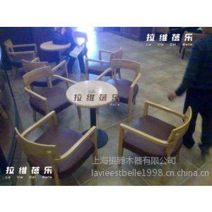 供应韩国beans bins咖啡厅桌椅 咖啡厅实木桌椅 咖啡厅桌椅