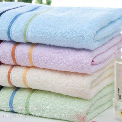 毛巾厂家直销 竹炭毛巾 竹纤维面巾 竹纤维毛巾洗脸抗菌面巾