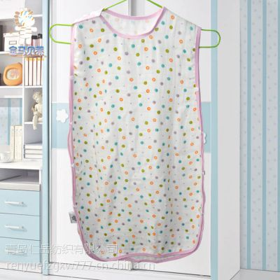新品专业定制 6层竹纤维纱布睡袋婴儿 空调儿童睡袋 防踢被S-038