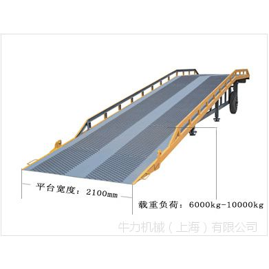 供应上海牛力尾板登车桥价格厂家