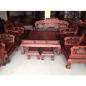 供应老挝大红酸枝百子沙发,交趾黄檀百子沙发,黑酸枝嵌红板沙发,大红酸枝百子沙发价格