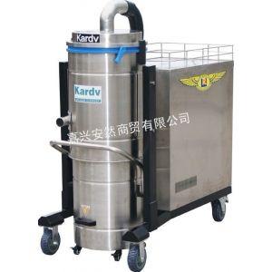 供应凯德威工业吸尘器DL-7510 大功率工业吸尘器 移动式除尘器 不锈钢吸尘器