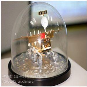 供应中国航空模型太空展示罩指定供应商飞剑有机玻璃