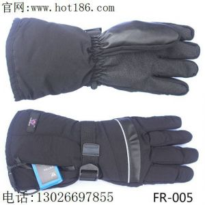 供应户外雪地滑雪保暖手套|电热手套