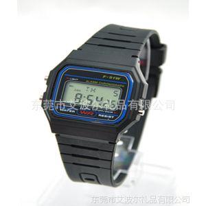 供应东莞厂家直销硅胶手表 西欧电子手表 闹钟手表
