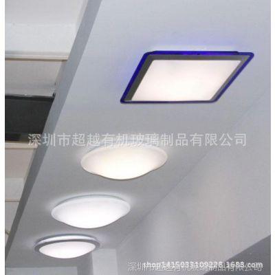 大量供应 亚克力扩散板 2MM乳白LED平板灯面板灯专用扩散板