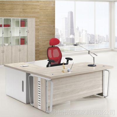 供应厂家直销老板总裁板式大班桌办公桌经理桌简约主管桌