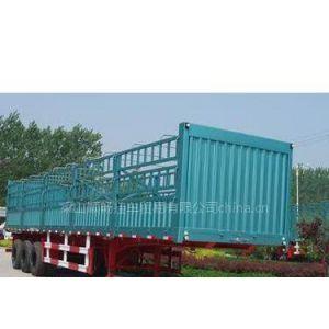 供应梁山仓栅式半挂车 轻型仓栅 14.6米手续价格 拉煤车