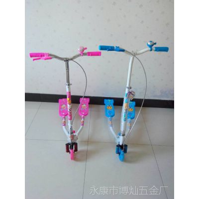新款三轮蛙式车 儿童扭扭车滑板车