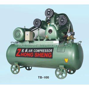 供应广州忠盛TB-100塞空压机