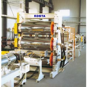 供应塑料土工格室生产线