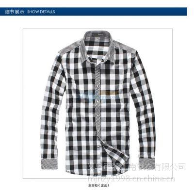 长袖衬衫定做 定做长袖衬衫 江南衬衫定做服装