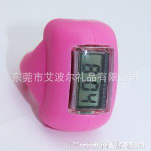 供应硅胶戒指手表 一度防水手表 电子机芯 时装个性