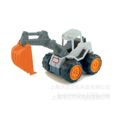 *美国小泰克littletikes玩具沙滩挖土机玩具男孩童商拼积木图片
