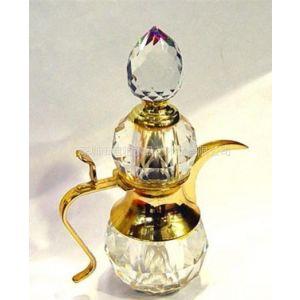 定做水晶摆件xsp022水晶香水瓶,精工,时尚